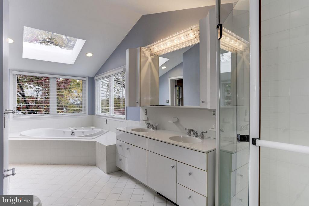 Master Bath with Separate Tub and Shower - 5464 31ST ST NW, WASHINGTON