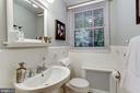Main Level Powder Room - 5464 31ST ST NW, WASHINGTON