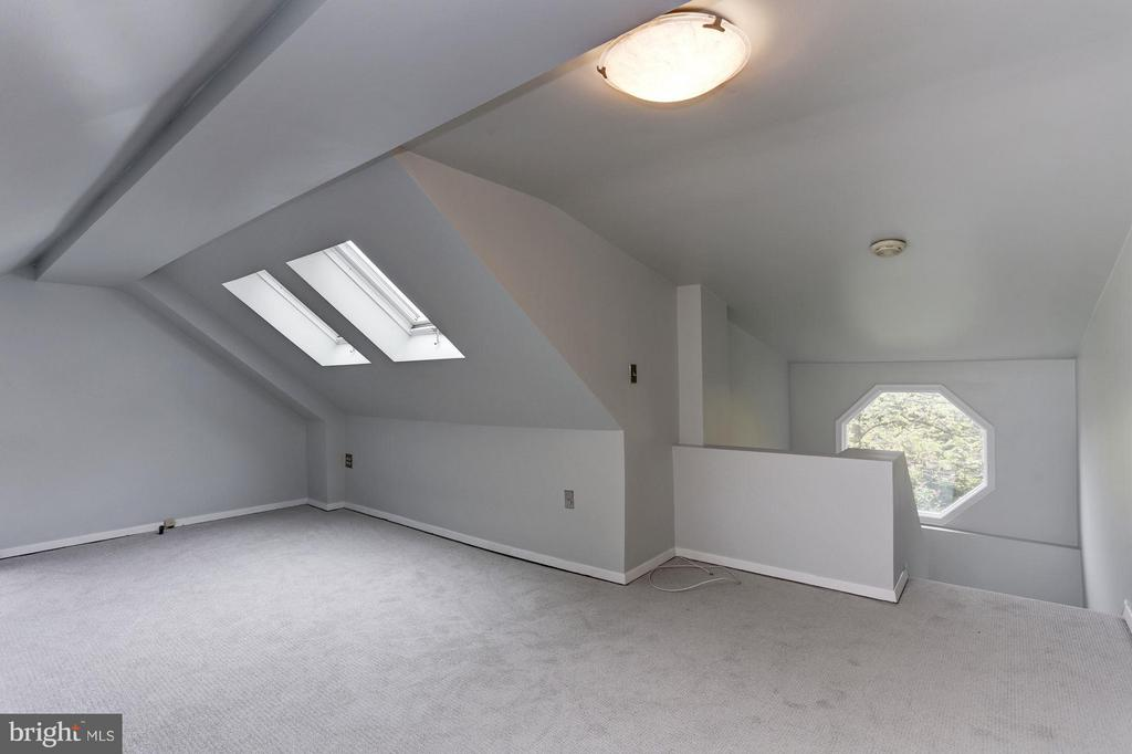 Finished Attic with Skylights-Bedroom #5 - 5464 31ST ST NW, WASHINGTON