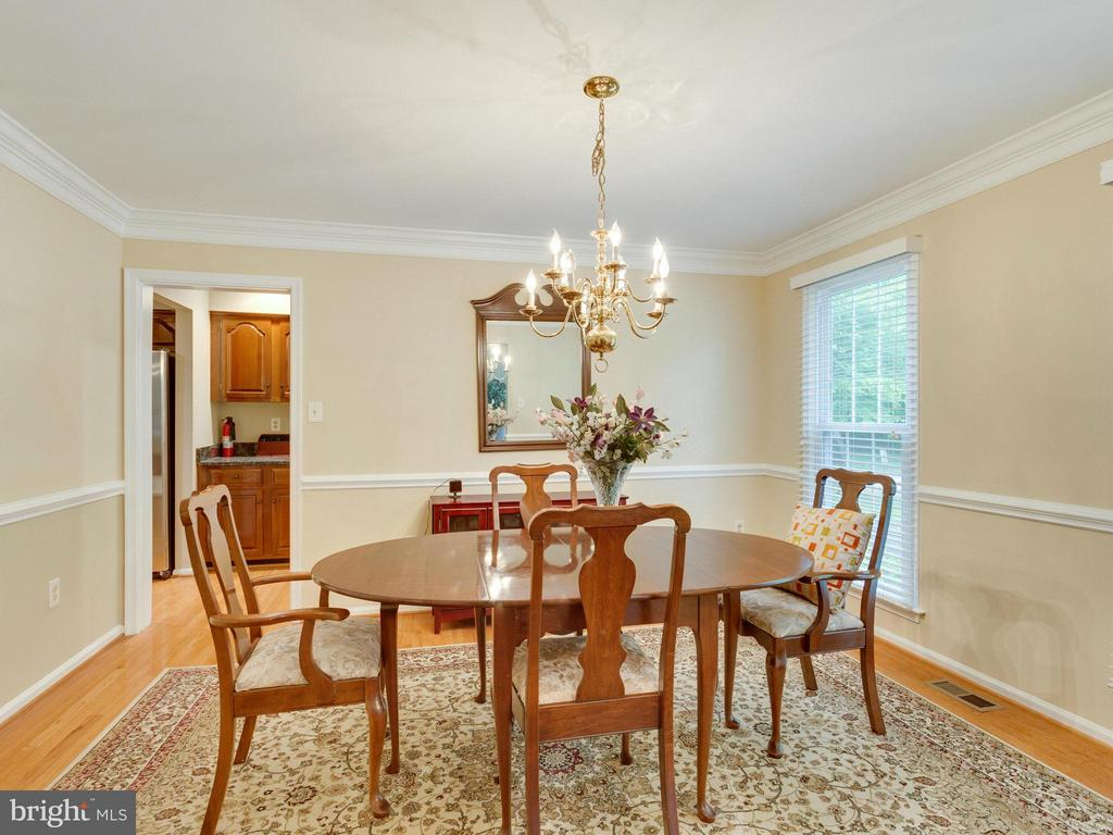 Dining Room - 10618 CANTERBERRY RD, FAIRFAX STATION