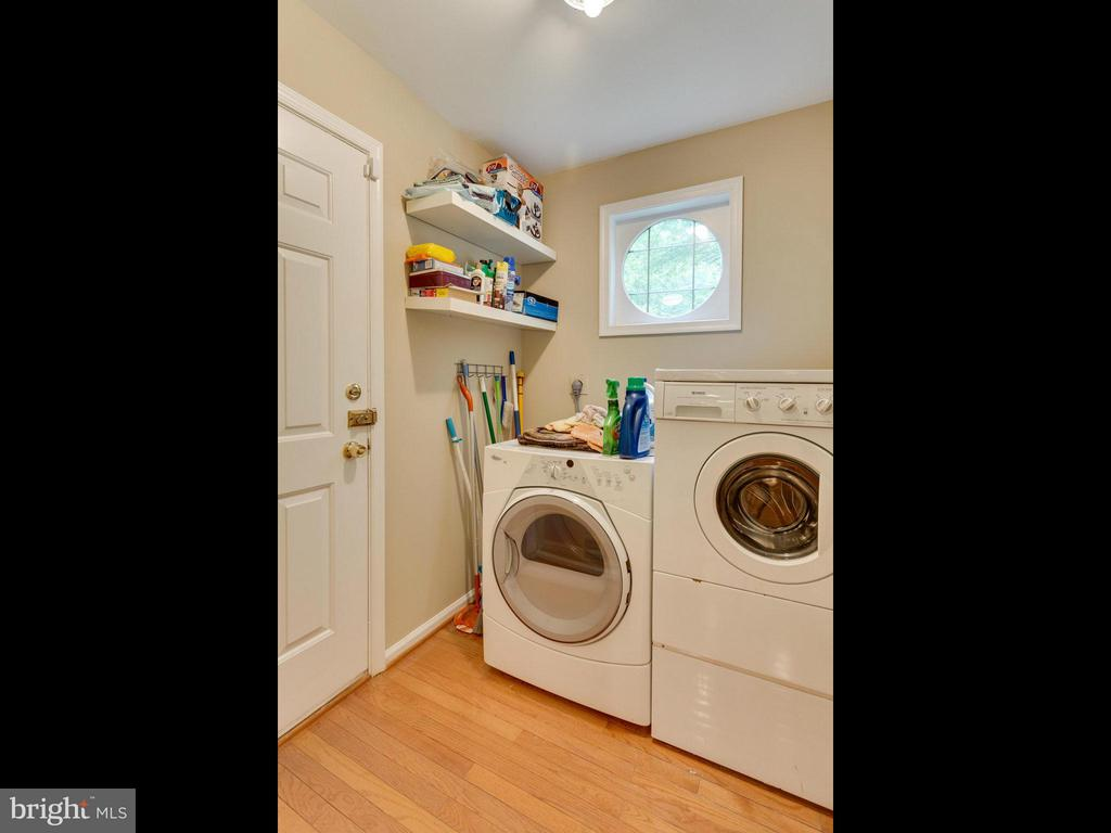 Laundry Area - 10618 CANTERBERRY RD, FAIRFAX STATION
