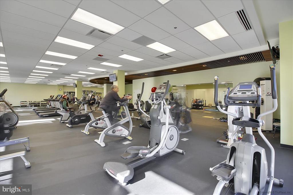 Fitness Center - 3206 GLENEAGLES DR #109, SILVER SPRING