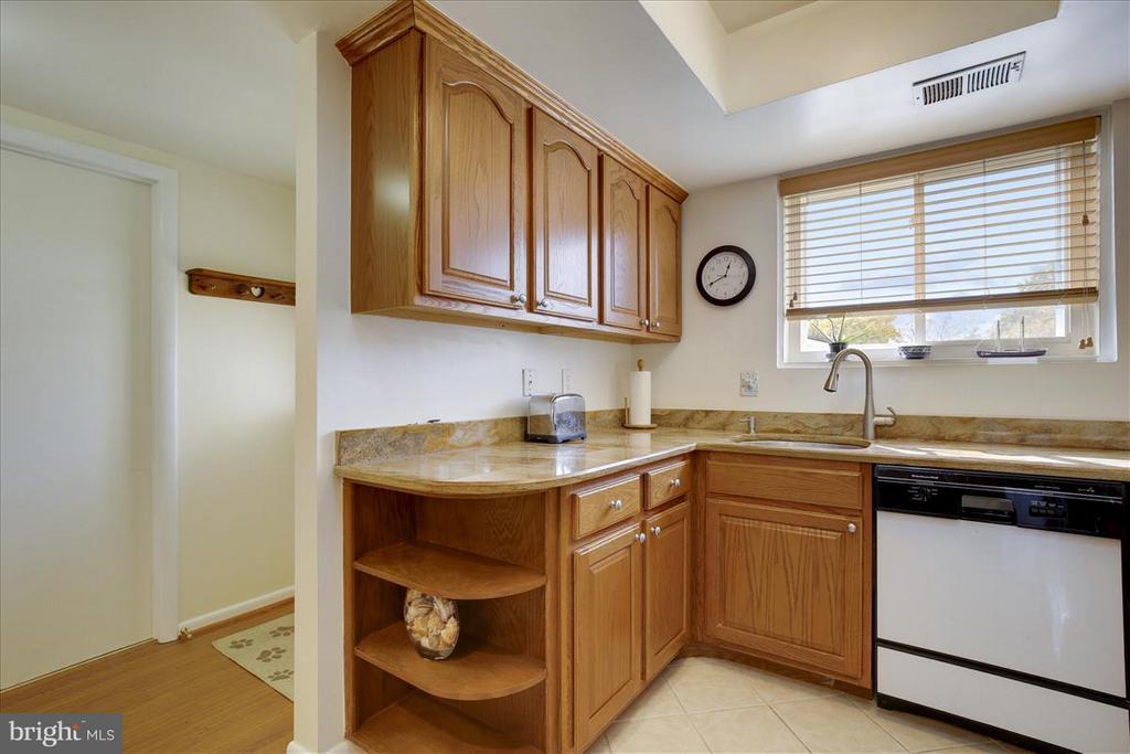 Updated Modern Kitchen - 3206 GLENEAGLES DR #109, SILVER SPRING