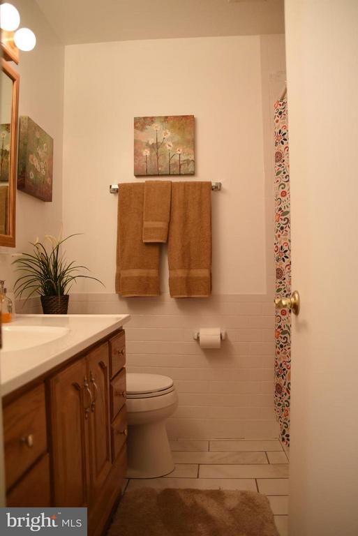 Remodeled Main Level Hall Bath - 8650 VICTORIA RD, SPRINGFIELD