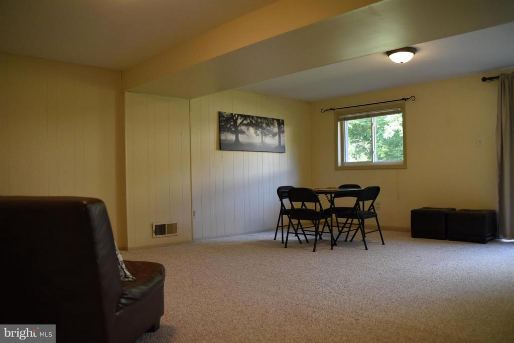 Family Room on Lower Level with Outside Entrance - 8650 VICTORIA RD, SPRINGFIELD