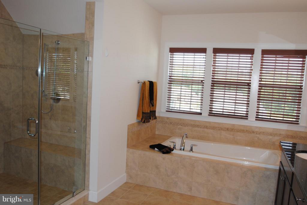 Wide Enclosed Shower in Master Bath - 7480 PRESERVE CREST WAY, MCLEAN