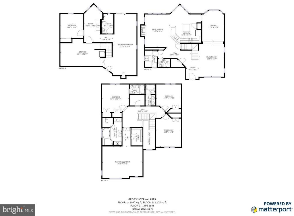 Floor plans - 2550 HOLLY MANOR DR, FALLS CHURCH