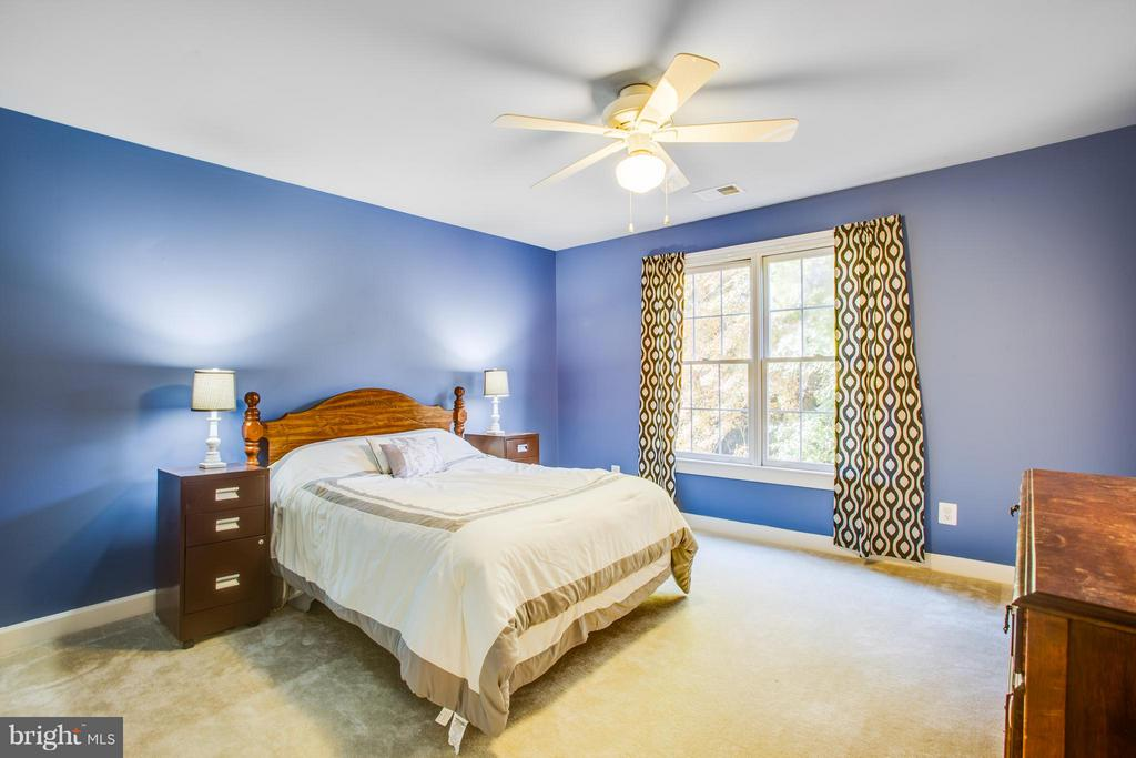 2nd Bedroom with en suite bath - 2550 HOLLY MANOR DR, FALLS CHURCH
