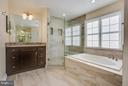 Two separate vanities - 2550 HOLLY MANOR DR, FALLS CHURCH