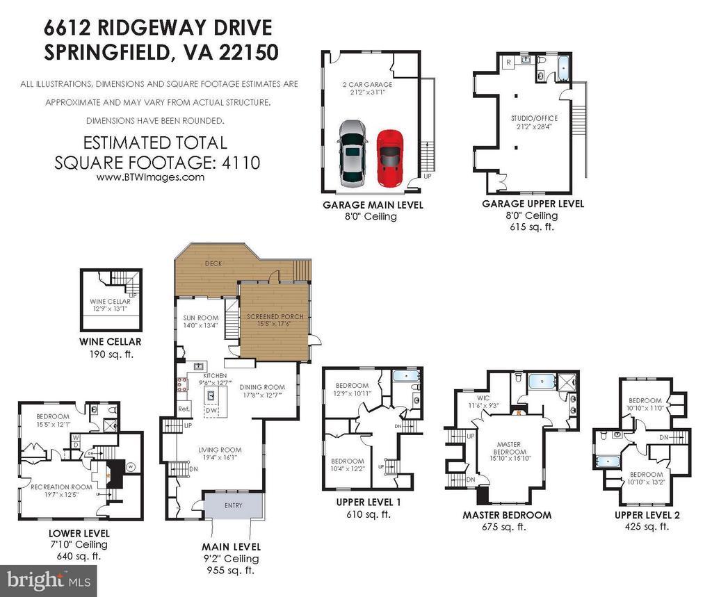 Floor Plan - 6612 RIDGEWAY DR, SPRINGFIELD