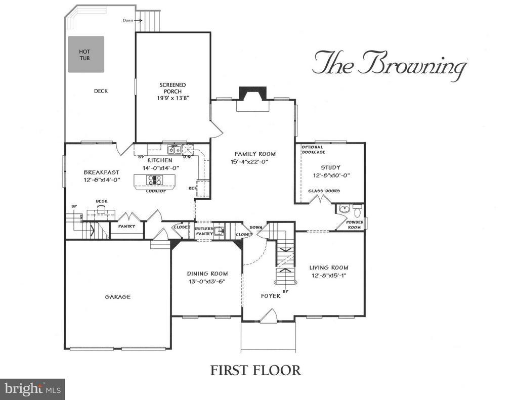 Main Level Floorplan - 43499 CROSS BREEZE PL, ASHBURN