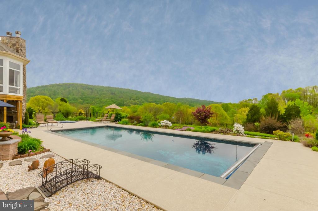 Outdoor Pool - 12060 CATOCTIN FARM LN, LOVETTSVILLE