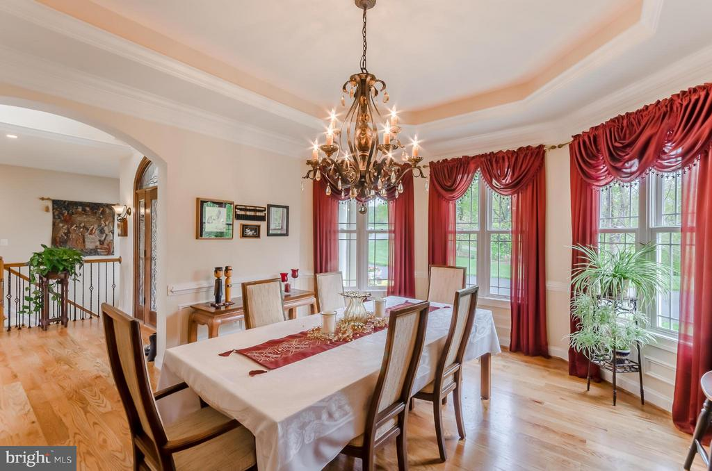 Dining Room - 12060 CATOCTIN FARM LN, LOVETTSVILLE