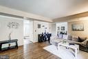 Family Room offers hardwood floors - 4422 TULIP TREE CT, CHANTILLY