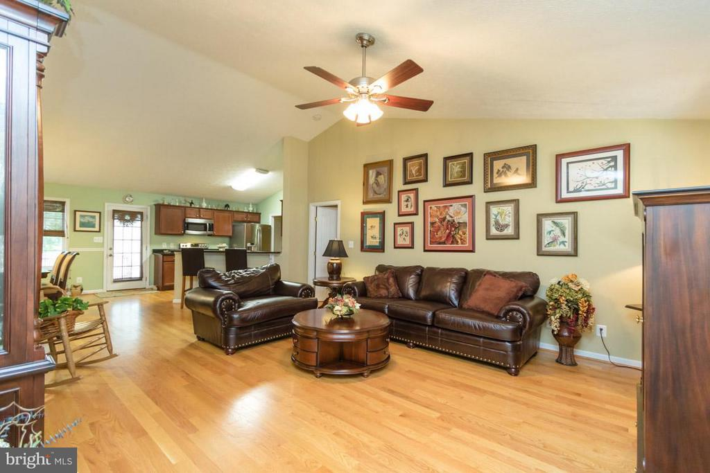 Living Room from foyer - 3411 LAKEVIEW PKWY, LOCUST GROVE