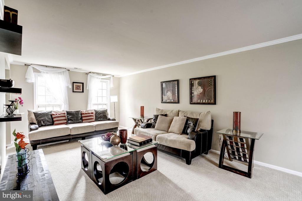 Living Room - 4422 TULIP TREE CT, CHANTILLY