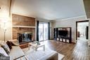 Family Room with fireplace - 4422 TULIP TREE CT, CHANTILLY