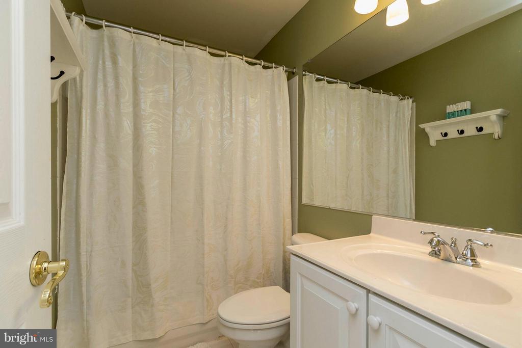 Lovely hallway bathroom - 21043 ROAMING SHORES TER, ASHBURN