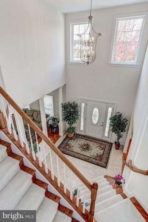 Gorgeous Two-Story Foyer - QUARTZ - LOT 6 AVE, CULPEPER