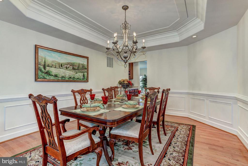 Formal Dining Room with Tray Ceiling - QUARTZ - LOT 6 AVE, CULPEPER