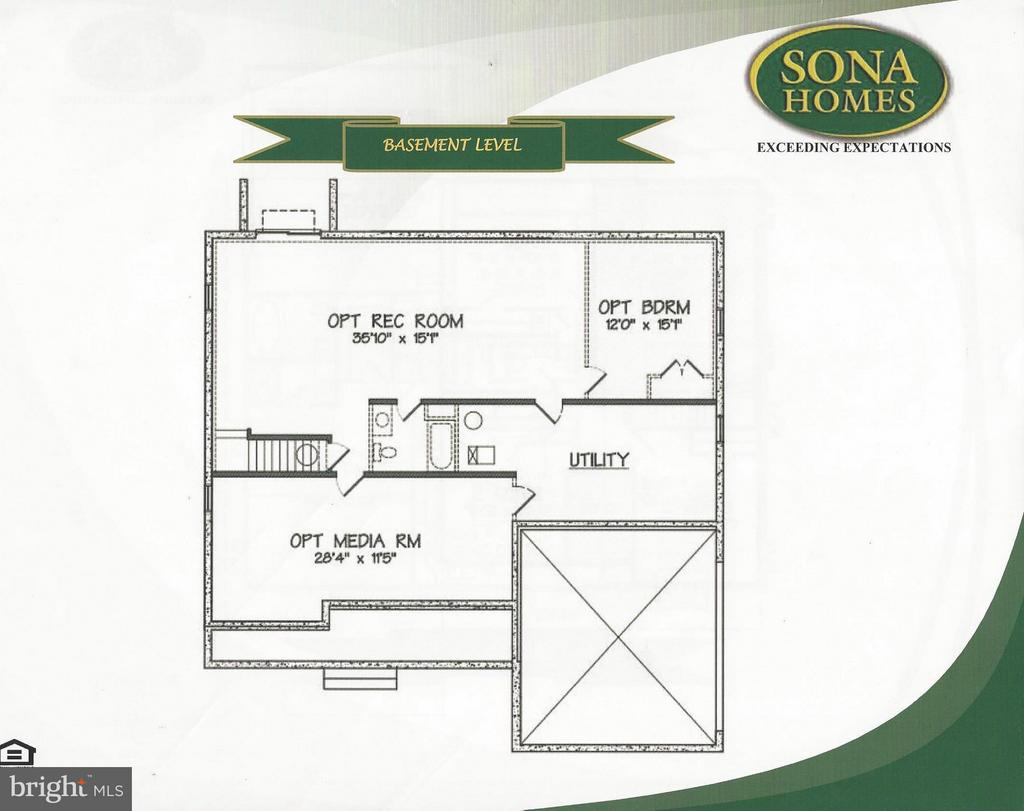Basement Level - LOT 137, CULPEPER