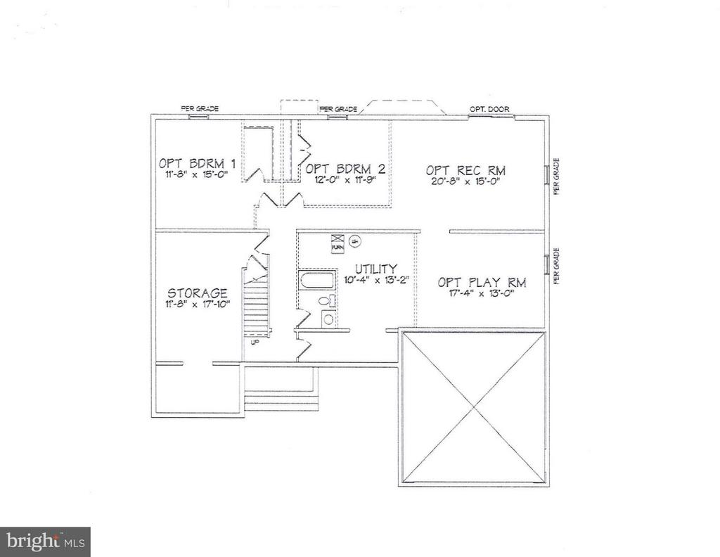 Basement - LOT 143, CULPEPER