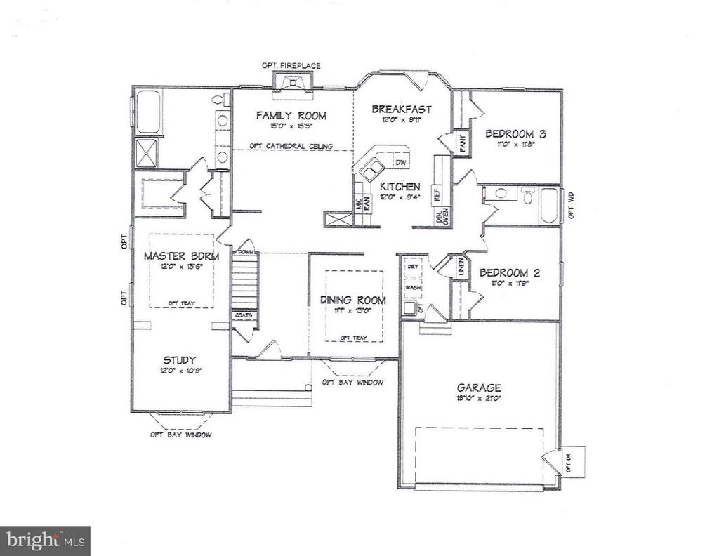 Main Level - LOT 143, CULPEPER