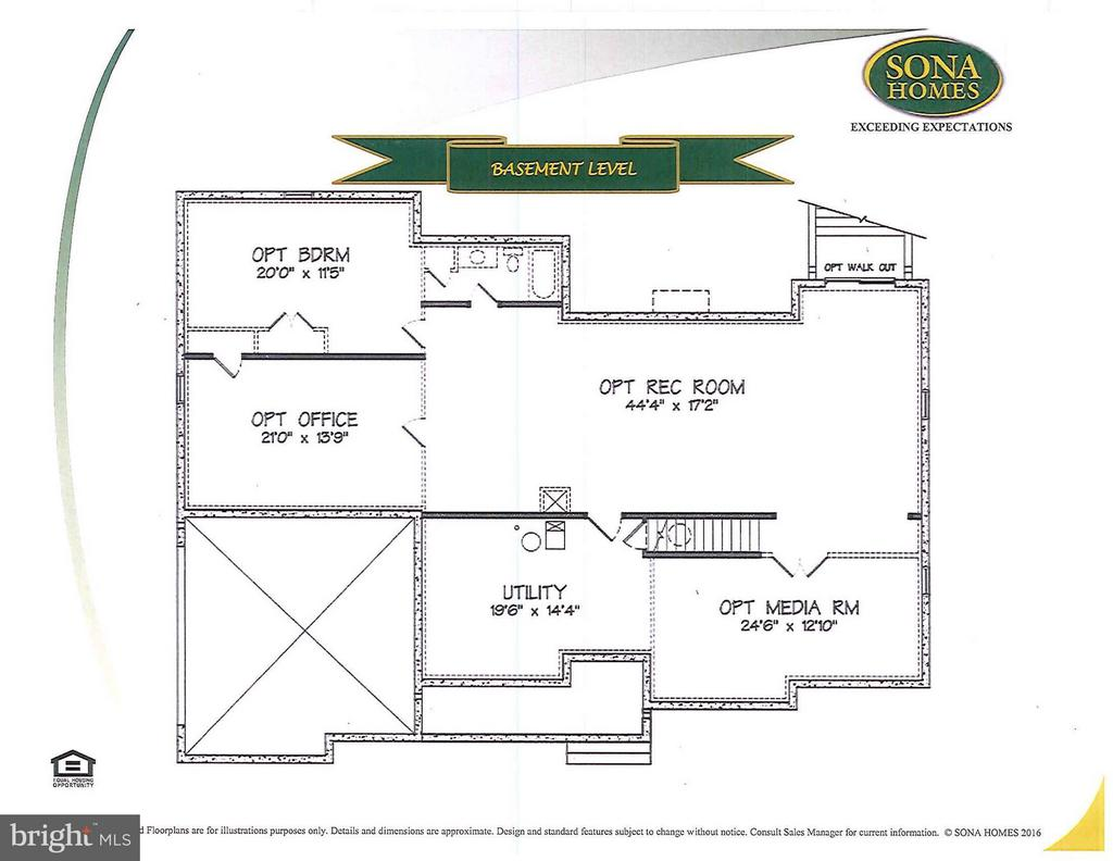 Basement Level - QUARTZ - LOT 14 AVE, CULPEPER
