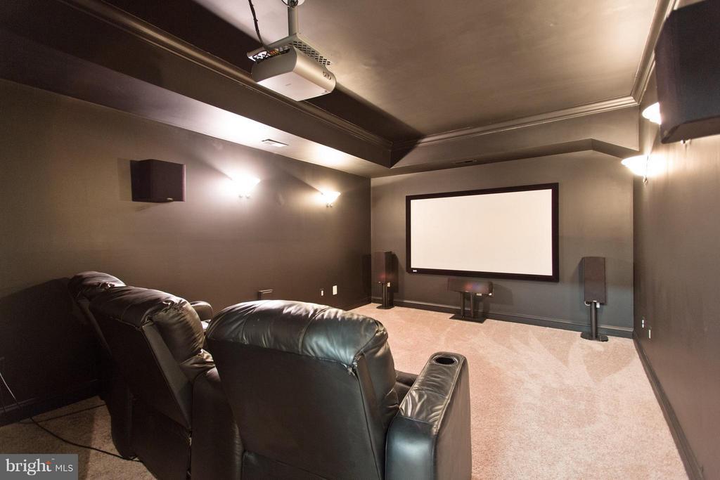 Movie Room - 55 AZTEC DR, STAFFORD