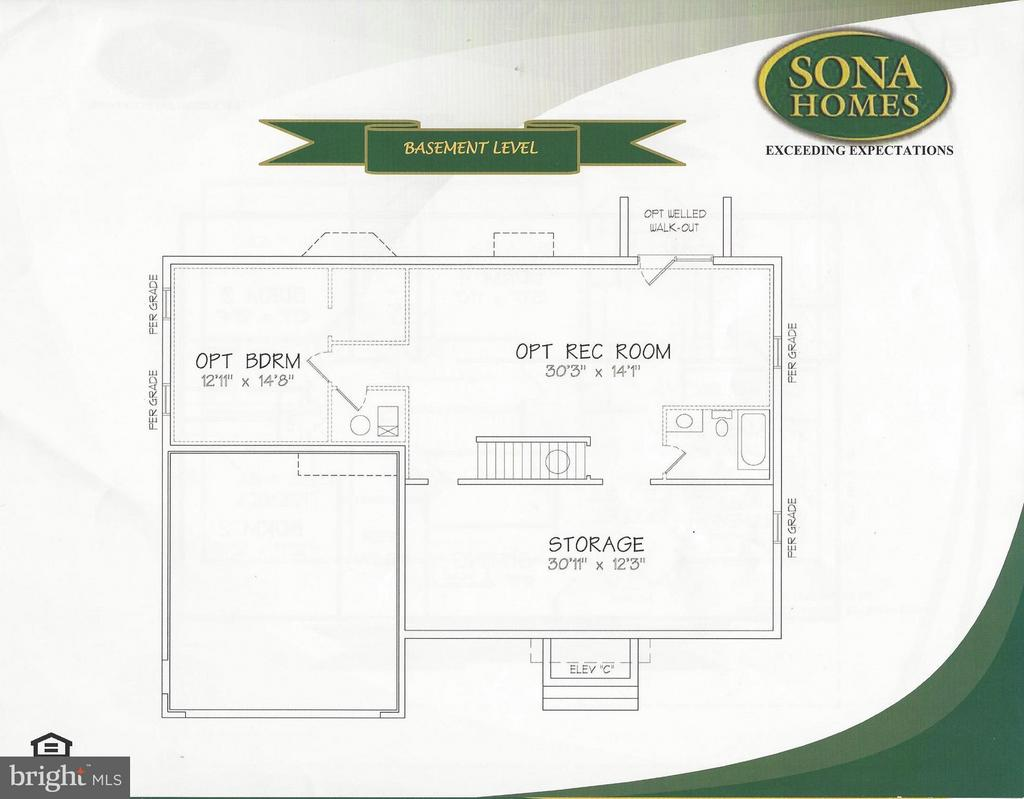 Basement - LOT 145, CULPEPER