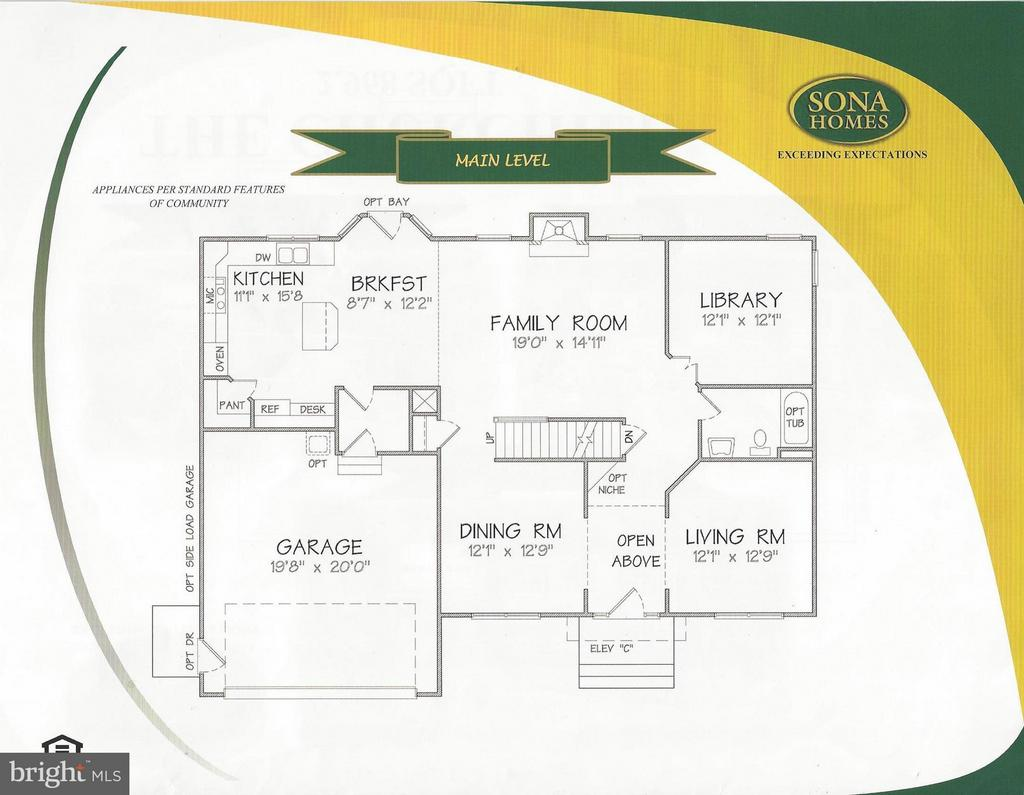 Main Level - LOT 145, CULPEPER