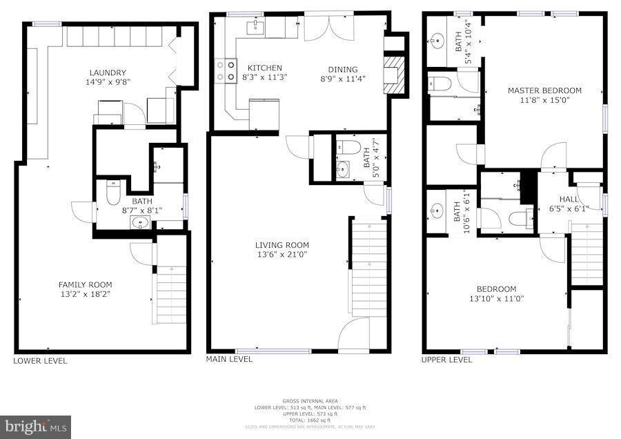 Floor Plan - 2542D ARLINGTON MILL DR, ARLINGTON
