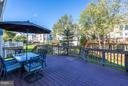 Great Deck For Entertaining - 25929 QUINLAN ST, CHANTILLY