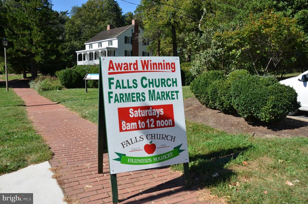 Award Winning Farmer's Market - 1022 RAILROAD AVE, FALLS CHURCH