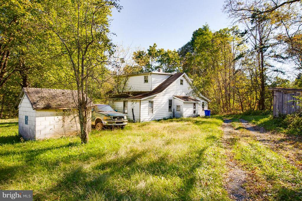 First home on the property! Yes two homes - 15854 SAINT ANTHONY RD, THURMONT
