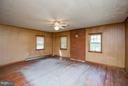 Living Room Wood Floors - 15854 SAINT ANTHONY RD, THURMONT