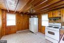 Kitchen has tablespace - 15854 SAINT ANTHONY RD, THURMONT