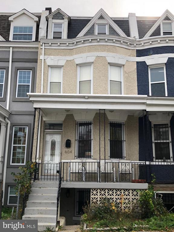 Exterior (Front) - 604 HARVARD ST NW, WASHINGTON