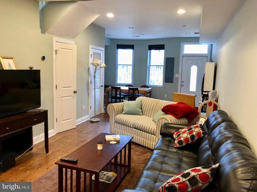 Living Room - 604 HARVARD ST NW, WASHINGTON