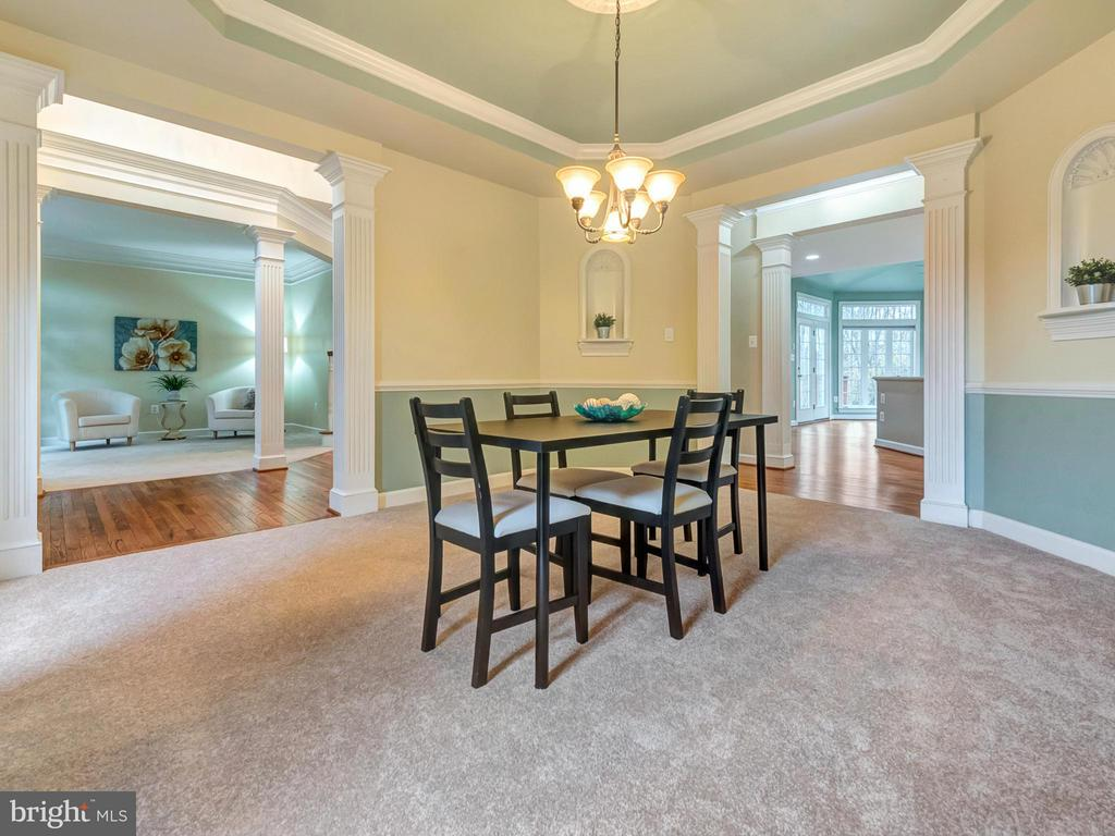 Dining Room. - 3918 SWEET BRIAR LN, FREDERICK