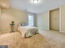 Basement bedroom. - 3918 SWEET BRIAR LN, FREDERICK