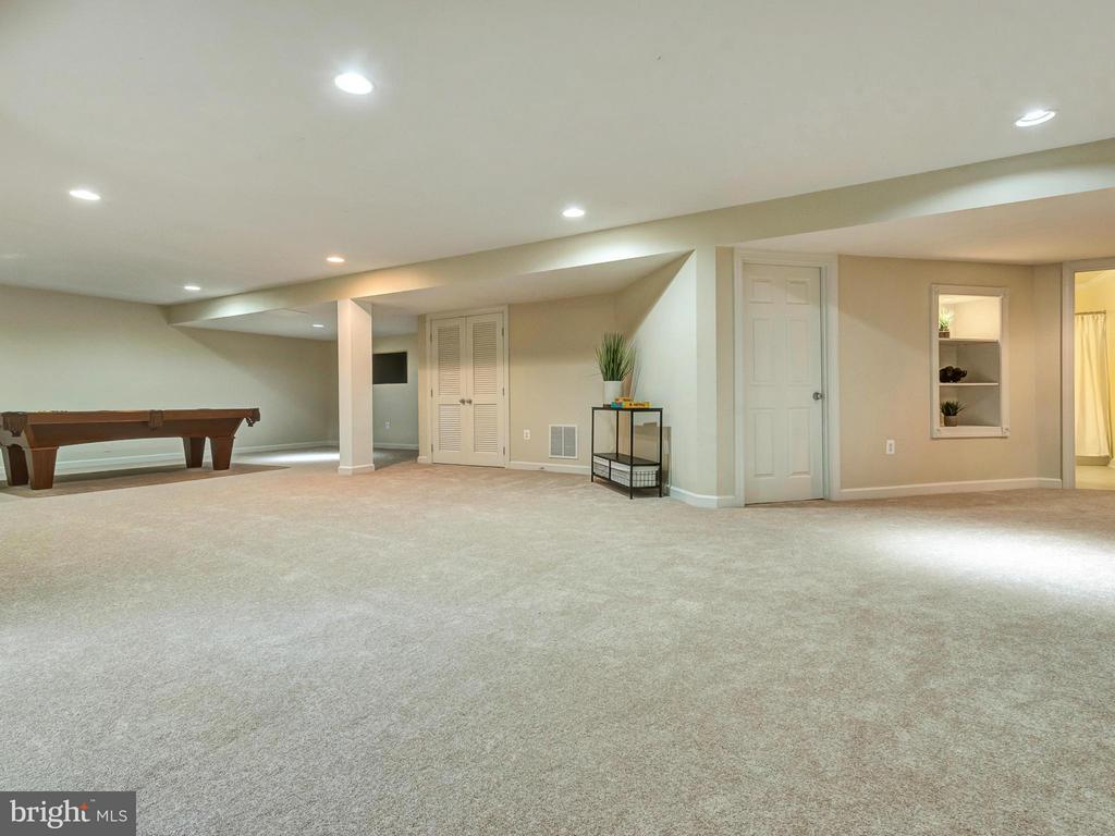Basement includes two large storage areas. - 3918 SWEET BRIAR LN, FREDERICK