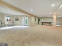 Basement features multiple entertaining areas. - 3918 SWEET BRIAR LN, FREDERICK
