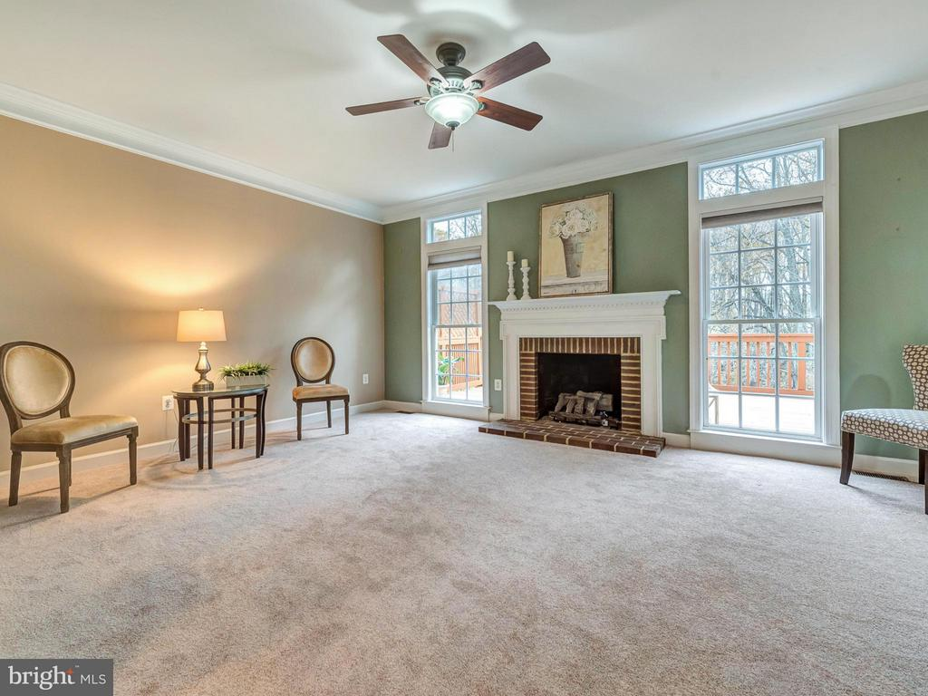 Family room. - 3918 SWEET BRIAR LN, FREDERICK