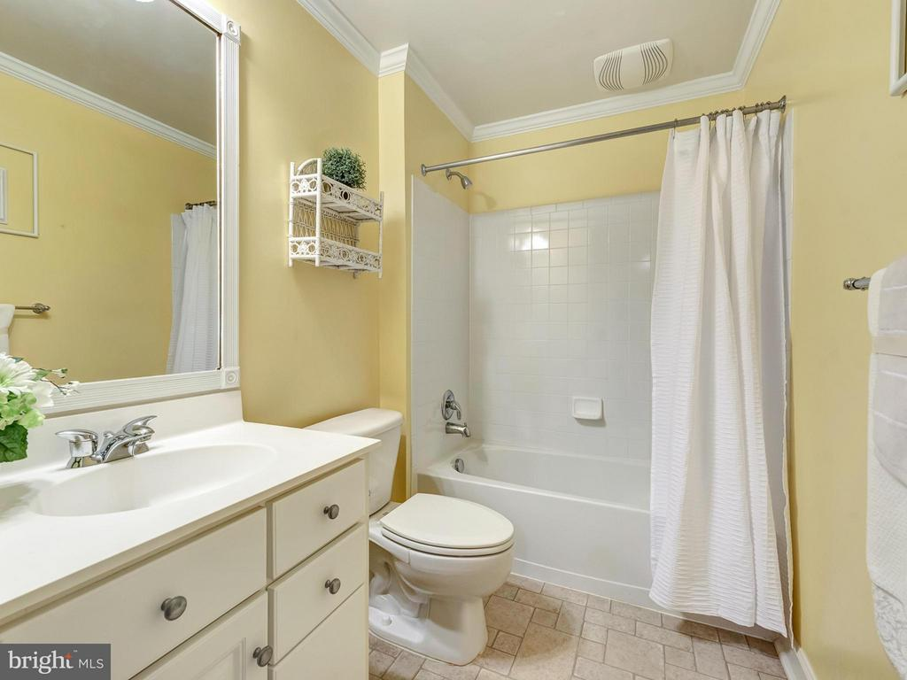 Full bathroom on lower level. - 3918 SWEET BRIAR LN, FREDERICK