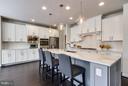 Well Designed, Light-filled Gourmet Kitchen - 9071 BEAR BRANCH PL, FAIRFAX