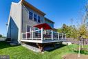 Fenced Backyard with Expansive Deck - 9071 BEAR BRANCH PL, FAIRFAX