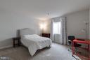 Lower Level Bedroom - 9071 BEAR BRANCH PL, FAIRFAX