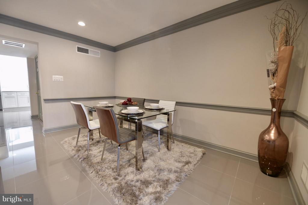 Dining Room - 103 CAMERON MEWS, ALEXANDRIA