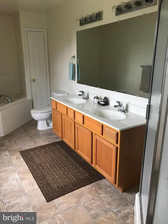 Bath (Master) with Separate Shower - 129 OAK HEIGHTS RD, FRONT ROYAL